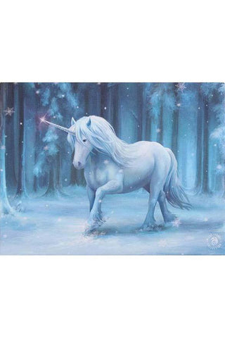 Anne Stokes Winter Wonderland Unicorn Picture | Angel Clothing