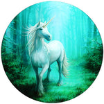 Anne Stokes Forest Unicorn Glass Table | Angel Clothing