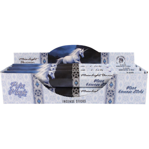 Anne Stokes Moonlight Unicorn Incense Sticks | Angel Clothing