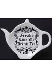 Alchemy Freaks Like Me Drink Tea Spoon Holder Rest | Angel Clothing