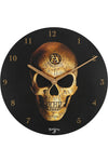 Alchemy Omega Skull Clock | Angel Clothing