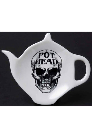 Alchemy Pot Head Tea Spoon Holder Rest | Angel Clothing