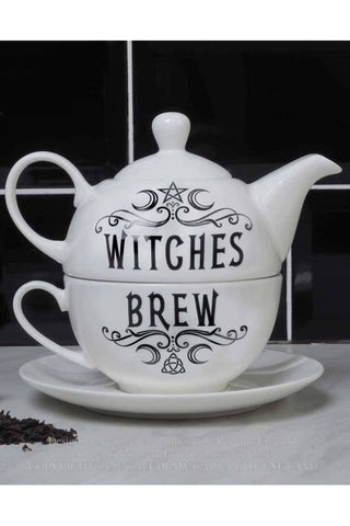 Alchemy Witches Brew Hex Tea for One Set | Angel Clothing
