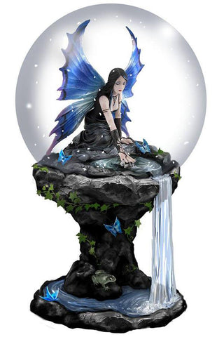 Anne Stokes Immortal Flight Snowglobe 100mm | Angel Clothing