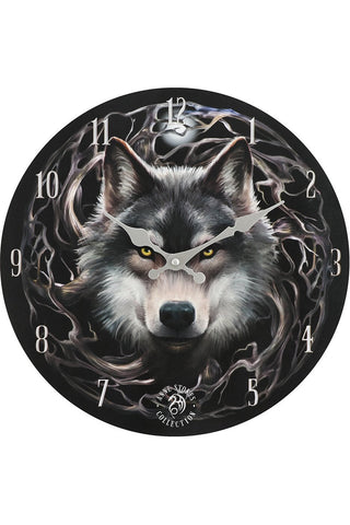 Anne Stokes Night Forest Clock | Angel Clothing
