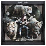 Anne Stokes Power Of Three Clock | Angel Clothing