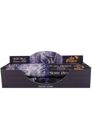 Anne Stokes Silver Dragon Incense Sticks | Angel Clothing