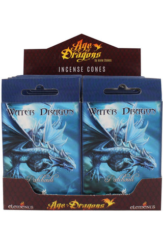 Anne Stokes Water Dragon Incense Cones | Angel Clothing