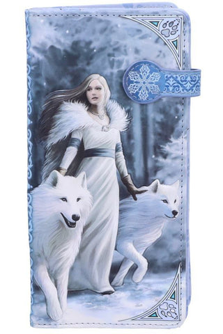Anne Stokes Winter Guardians Embossed Purse | Angel Clothing