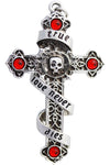 Anne Stokes Infinitas True Love Cross Necklace | Angel Clothing