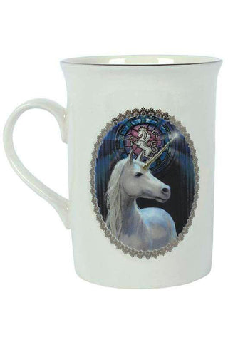 Anne Stokes Enlightenment Unicorn Mug | Angel Clothing