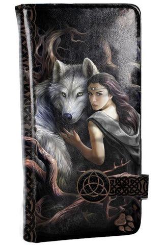 Soul Bond Embossed Purse by Anne Stokes 18.5cm | Angel Clothing