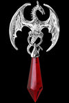 Anne Stokes Dragonet Silver Pendant | Angel Clothing