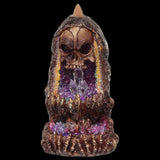 Skull Crystal Cave LED Backflow Incense Burner | Angel Clothing