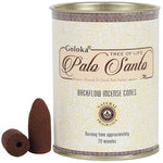 Goloka Palo Santo Backflow Incense Cones | Angel Clothing