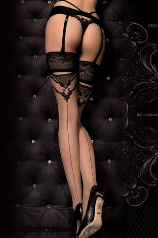 Ballerina 314B Hold Ups Stockings | Angel Clothing