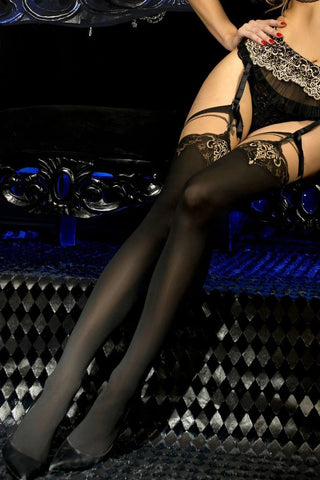 Ballerina 448 Hold Ups Stockings | Angel Clothing