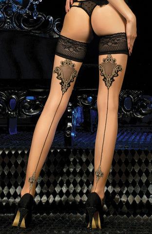 Ballerina 453 Hold Ups Stockings | Angel Clothing