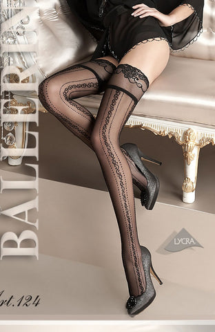 Ballerina 124 Hold Ups Stockings | Angel Clothing