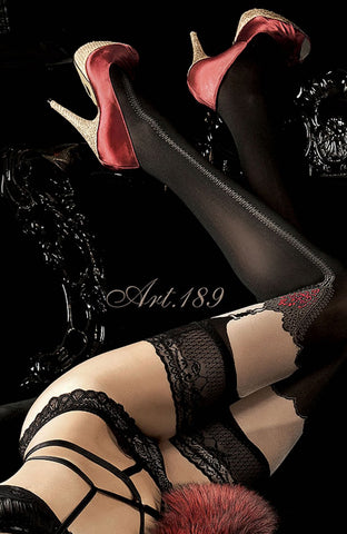 Ballerina 189 Hold Ups Stockings | Angel Clothing