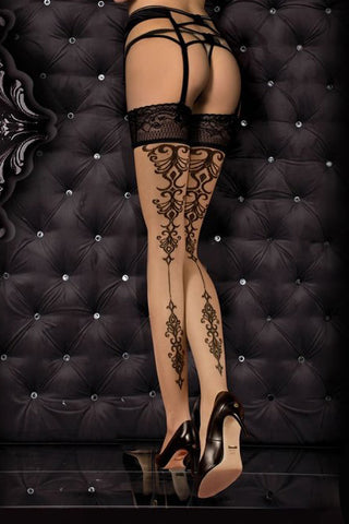 Ballerina 357 Hold Ups Stockings | Angel Clothing