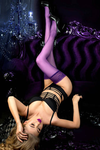 Ballerina 517 Holdups Stockings Prugna | Angel Clothing