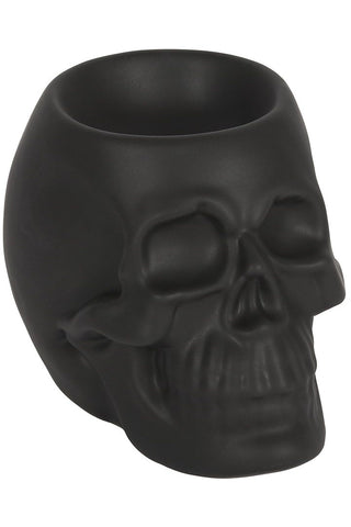 Black Skull Oil Burner | Angel Clothing
