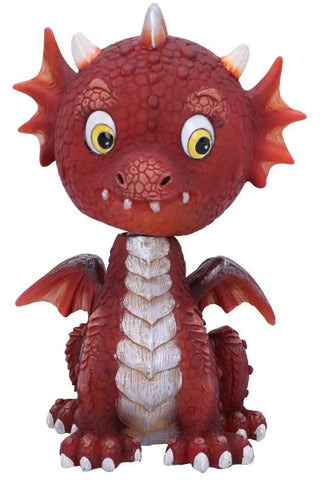 Bobflame Red Dragon Bobble Head | Angel Clothing