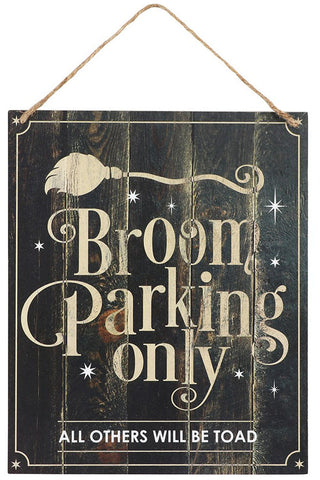 Broom Parking Only Sign | Angel Clothing