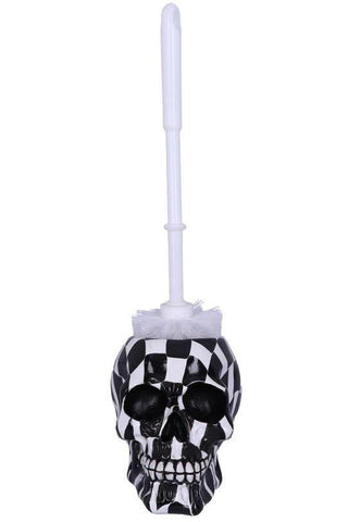 Brush with Death Harlequin Toilet Brush | Angel Clothing