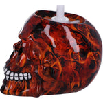 Brush with Death Inferno Red Skull Toilet Brush | Angel Clothing