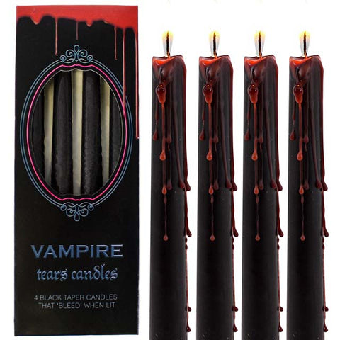 Pack of 4 Vampire Tears Candles | Angel Clothing