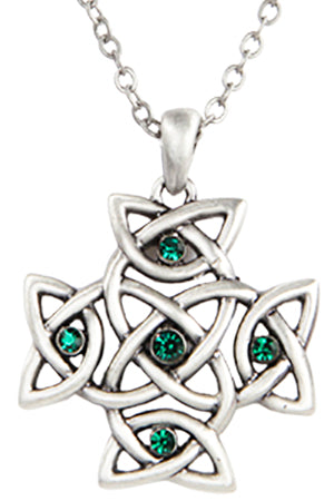 Mystica Celtic Cross Necklace