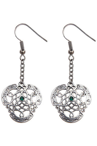 Mystica Celtic Knotwork Earrings | Angel Clothing