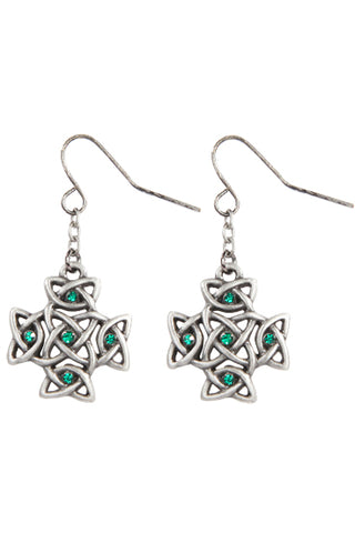 Mystica Celtic Cross Earrings