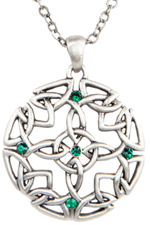 Mystice Celtic Round Necklace