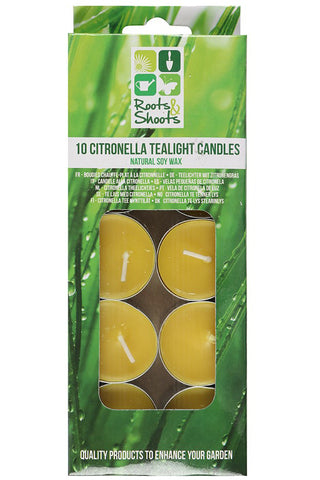 Citronella Tealights 10 | Angel Clothing
