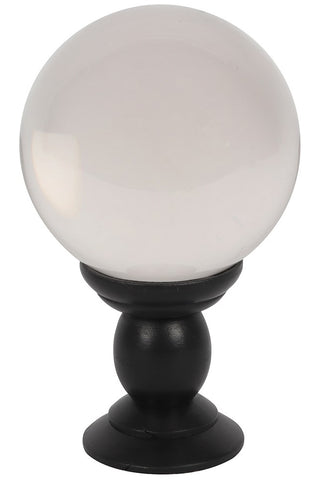 Crystal Ball on Stand Clear Large | Angel Clothing