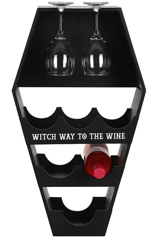 PRE-ORDER Coffin Wine Shelf | Angel Clothing