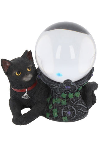 Cosmo Cat Crystal Ball Holder | Angel Clothing