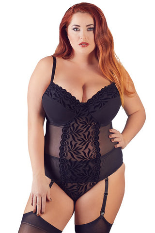 Cottelli Curves Basque | Angel Clothing