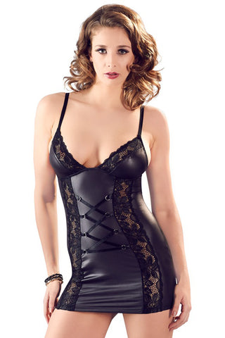 Cottelli Lingerie Dress Black | Angel Clothing