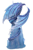 Crystal Custodian Blue Ice Dragon | Angel Clothing