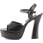 Demonia Black Vegan Shoes DOLLY-09 | Angel Clothing