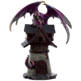 Dark Legends Village Protector Dragon Purple | Angel Clothing