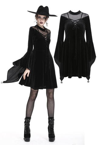 Dark in Love Kalinda Dress | Angel Clothing