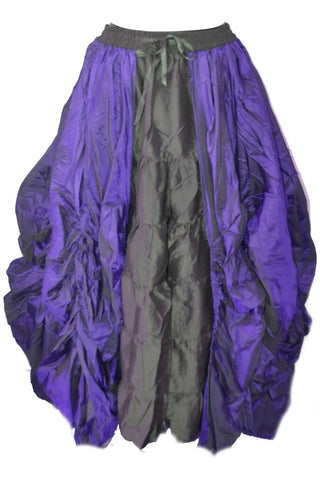 Dark Star purple Poly Silk Skirt | Angel Clothing