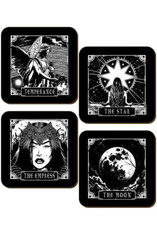 Deadly Tarot Coaster Set