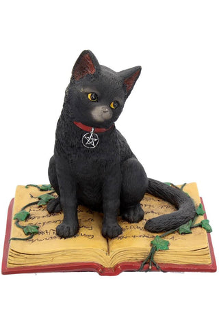 Eclipse Cat Spell Book Figurine | Angel Clothing