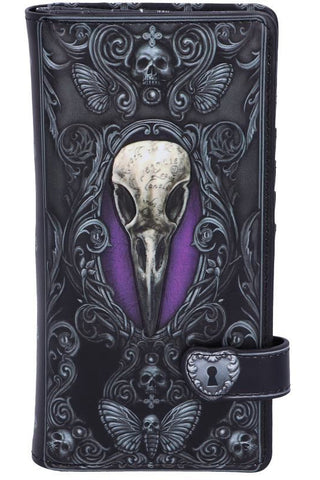 Edgar Allen Poe Nevermore Raven Purse | Angel Clothing